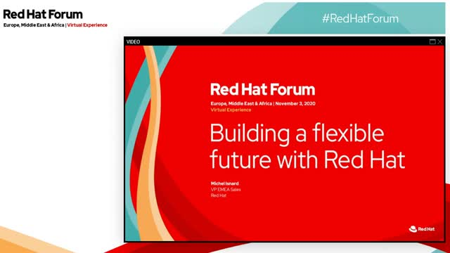 Building a flexible future with Red Hat
