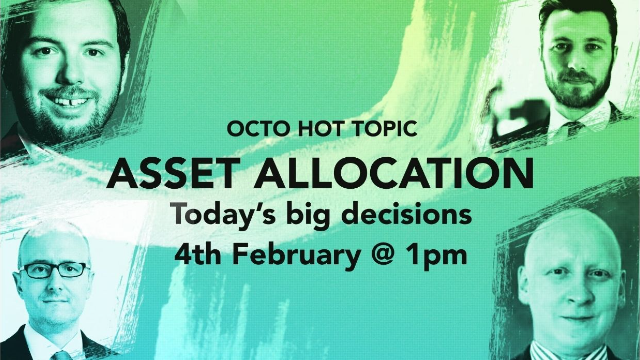 HOT TOPIC Asset allocation: Today's big decisions