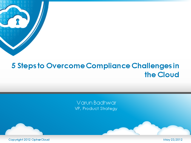 5 Steps to Overcome Compliance Challenges in the Cloud