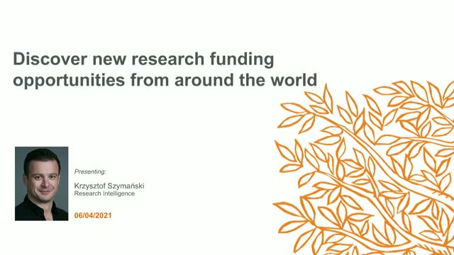 Discover new research funding opportunities from around the world