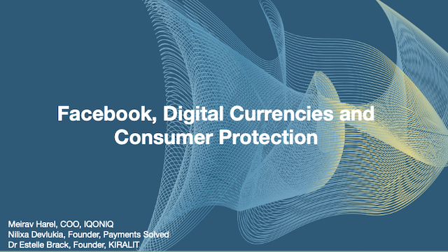Facebook, Digital Currencies and Consumer Protection