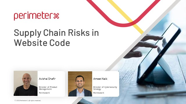 Supply Chain Risks in Website Code
