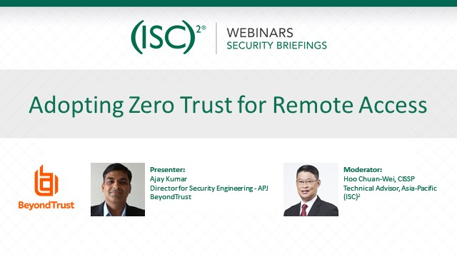 Adopting Zero Trust for Remote Access