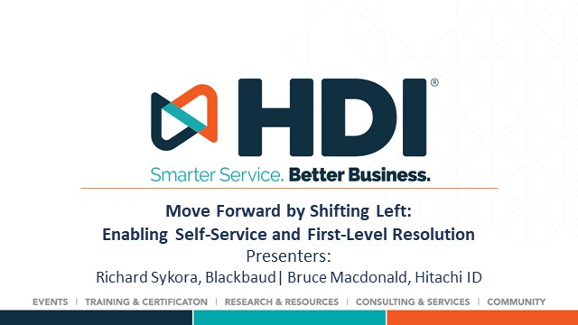 Move Forward by Shifting Left: Enabling Self-Service and First-Level Resolution