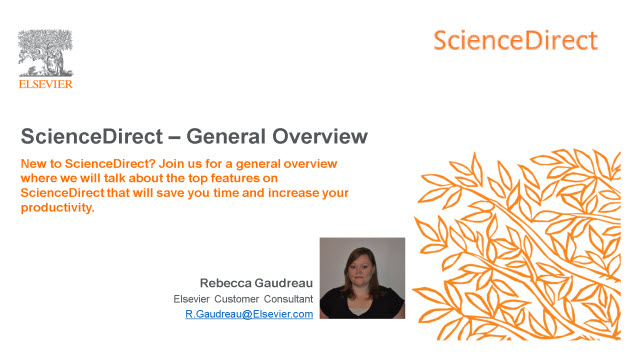 ScienceDirect - General Overview