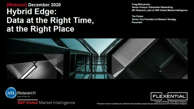 Hybrid Edge: Data at the Right Time, at the Right Place