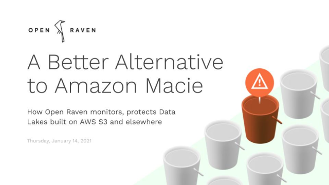 A Better Alternative to Amazon Macie