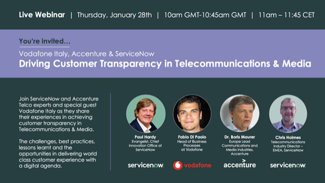 Vodafone Italy - Case Study - Driving Customer Transparency