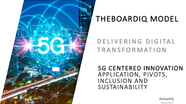 5G Centered Innovation – Application, Pivots, Inclusion and Sustainability