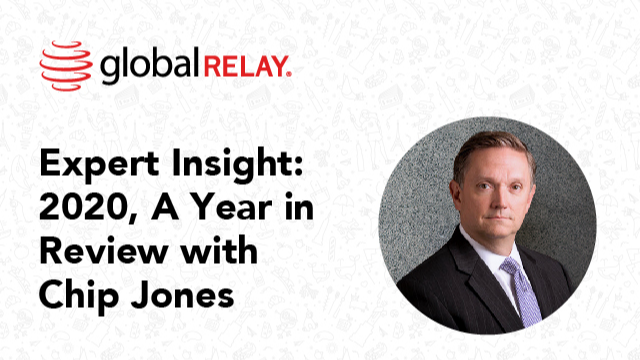 Expert Insights: 2020, A Year in Review with Chip Jones