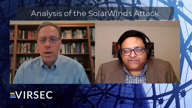 Analysis of the SolarWinds Attack
