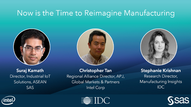 Now is the Time to Reimagine Manufacturing