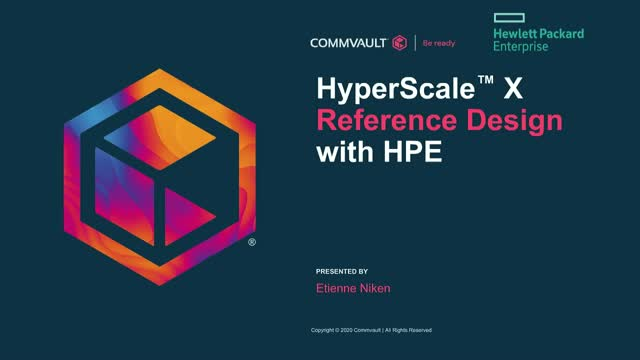 HyperScale X with HPE