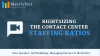 Rightsizing the Contact Center – Customer Care Staffing Ratios