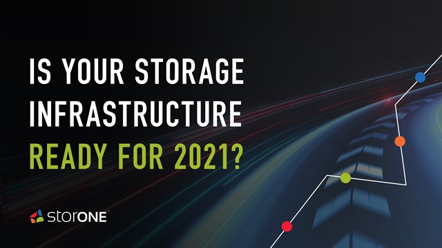 Is Your Storage Infrastructure Ready for 2021?