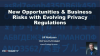 New Opportunities & Business Risks with Evolving Privacy Regulations