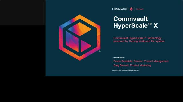 Accelerate hybrid cloud adoption with Commvault HyperScale X