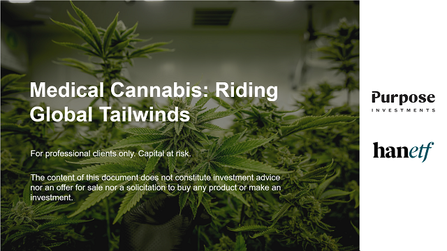 Medical Cannabis: Riding Global Tailwinds