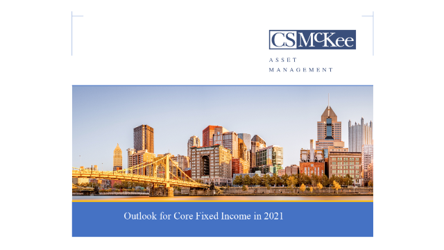 Outlook for Core Fixed Income in 2021