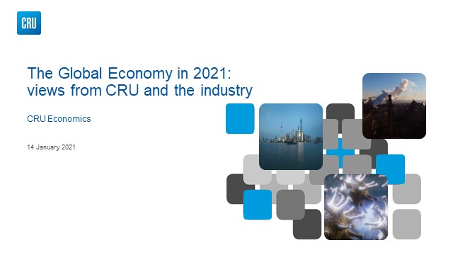 The global economy in 2021: views from CRU and the industry