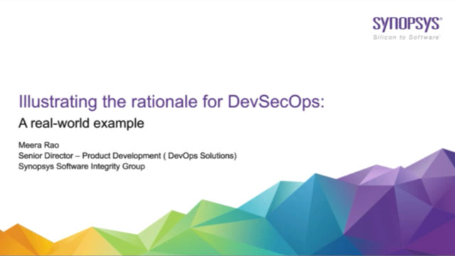 Illustrating the rationale for DevSecOps: A real-world example