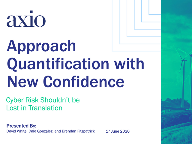 Cyber Risk Quantification with New Confidence