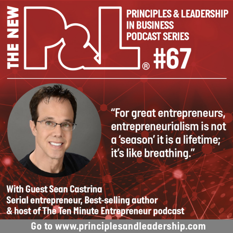 The New P&L speaks to serial entrepreneur & best-selling author, Sean Castrina