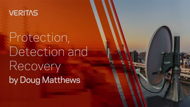 Protection, Detection and Recovery by Doug Matthews