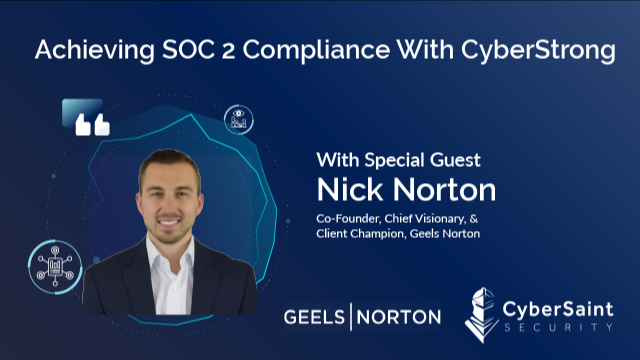 Achieving SOC 2 Compliance With CyberStrong - APAC