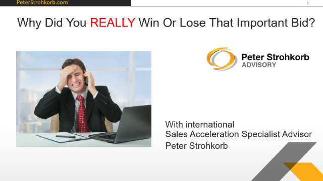 Customer Intel: Why did you REALLY win or lose that important deal?