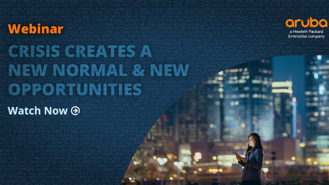 Crisis Creates a New Normal & New Opportunities