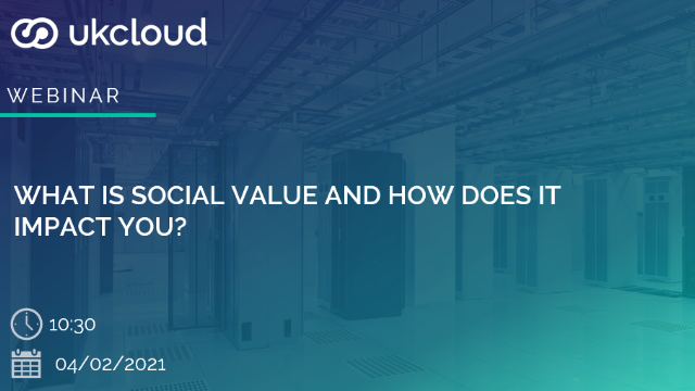 What is Social Value and how does it impact you?