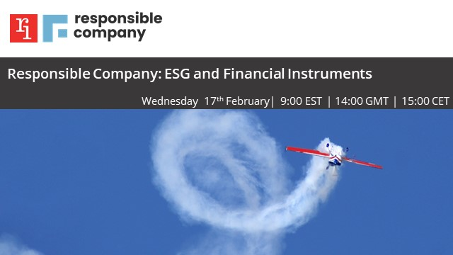 Responsible Company: ESG and Financial Instruments