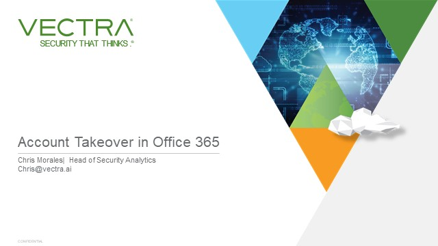The Fastest Growing Threat Vector: How Attackers Compromise O365 and the Cloud