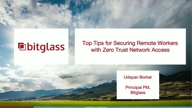 Top Tips for Securing Remote Workers with Zero-Trust Network Access