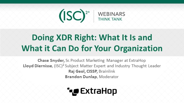 Doing XDR Right: What It Is and What it Can Do for Your Organization