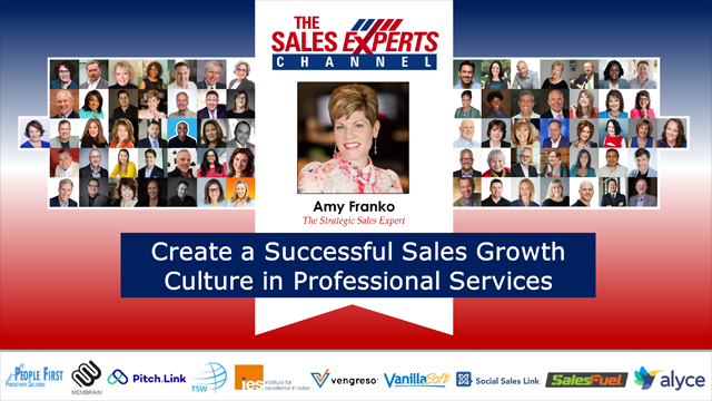Create a Successful Sales Growth Culture in Professional Services