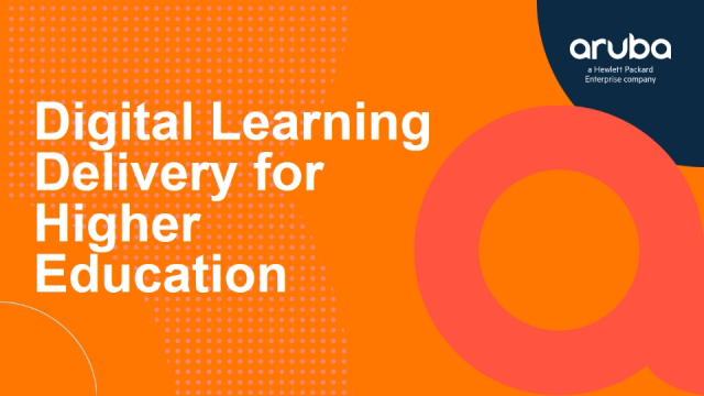Digital Learning Delivery for Higher Education
