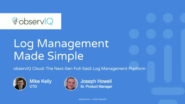 Log Management Made Simple