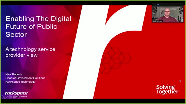 Accelerating Public Sector Cloud Adoption to Enable a Digital Government