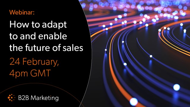 How to adapt to and enable the future of sales