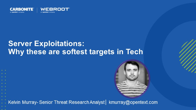 Server Exploitations: Why these are Softest targets in Tech