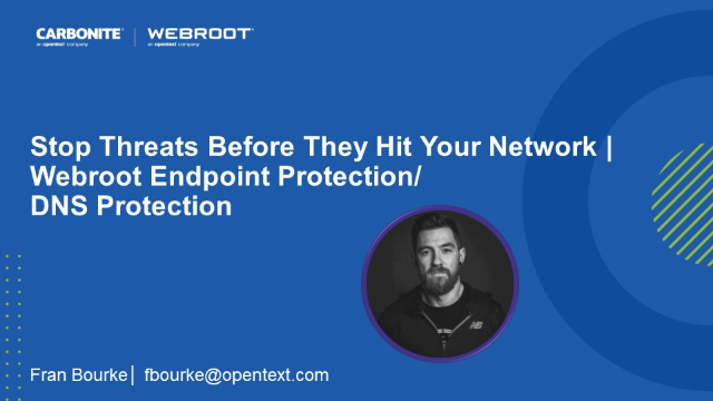 Stop Threats Before They Hit Your Network | Endpoint Protection/ DNS Protection