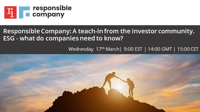 RC:ESG Investor Insights series - A Teach-in with investors: Investor Engagement