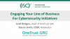 Engaging Your Line of Business for Cybersecurity Initiatives