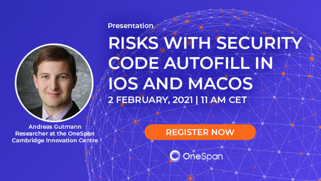Risks with Security Code AutoFill in iOS and macOS