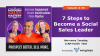 The Modern Sales Mastery Show-Episode 8: 7 Steps to Become a Social Sales Leader