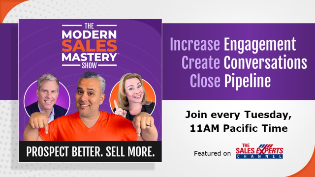 The Modern Sales Mastery Show - Episode 12