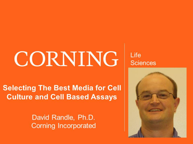 Selecting The Best Media for Cell Culture and Cell Based Assays