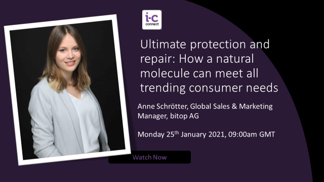 Ultimate protection & repair: How a natural molecule can meet all consumer needs